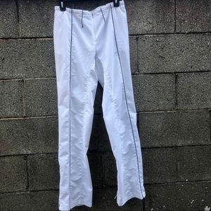 Nike Sphere Dry White Drawstring Track Pants | S